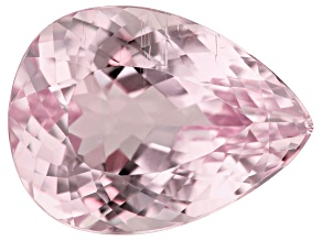 Kunzite 23.44ct 22x16mm Pear Trtd Mined: Afghanistan/Cut: india