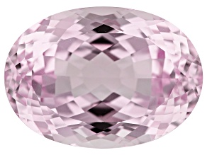 Kunzite 30.71ct 20x10mm Oval Trtd Mined: Afghanistan/Cut: india
