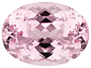 Kunzite 37.99ct 24.5x18mm Oval Trtd Mined: Afghanistan/Cut: india