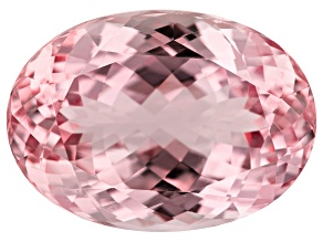 Kunzite 38.73ct 25x18mm Oval Trtd Mined: Afghanistan/Cut: india