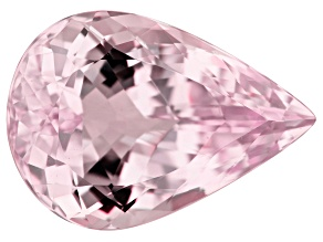 Kunzite 41.37ct 28x20mm Pear Trtd Mined: Afghanistan/Cut: india