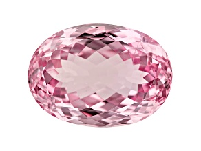 Kunzite 69.48ct 29.5x21mm Oval Trtd Mined: Afghanistan/Cut: india