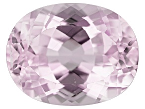Kunzite 8.90ct 14x11mm Oval Trtd Mined: Afghanistan/Cut: india