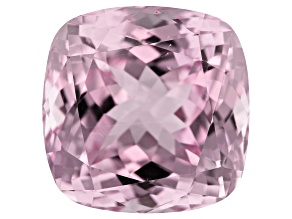 Kunzite 19.25ct 15mm Sq Cush Trtd Mined: Afghanistan/Cut: india