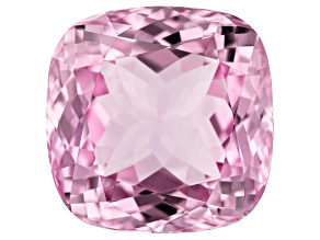 Kunzite 34.75ct 19mm Sq Cush Trtd Mined: Afghanistan/Cut: india