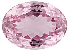 Kunzite 22.52ct 20x15mm Oval Trtd Mined: Afghanistan/Cut: india