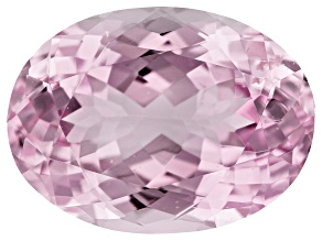 Kunzite 10.38ct 16x12mm Oval Trtd Mined: Afghanistan/Cut: india