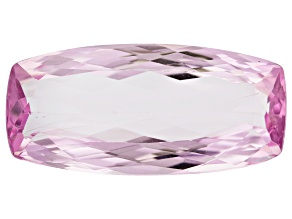 Tubular Kunzite 27.61ct 29.5x13.7mm Rec Cush Trtd Mined: Afghanistan/Cut: india