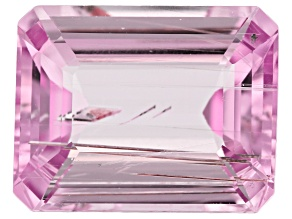 Tubular Kunzite 14.01ct 16.6x13mm Rec Oct Trtd Mined: Afghanistan/Cut: india