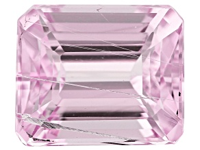 Tubular Kunzite 10.09ct 13.3x11.2mm Rec Oct Trtd Mined: Afghanistan/Cut: india