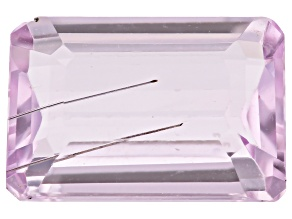 Kunzite Tubular 3.60ct 11x9mm Rectangular Octagonal
