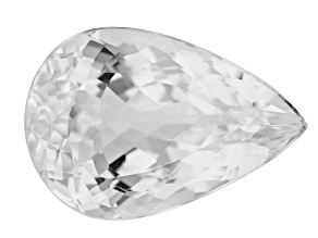 Colorless Spodumene 23x16mm Pear Shape 23.69ct