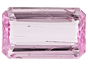 Tubular Kunzite 10.59ct 16.9x10.1mm Rec Oct Trtd Mined: Afghanistan/Cut: india