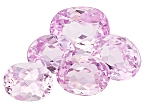 Kunzite Oval Set of 5 16.62ctw