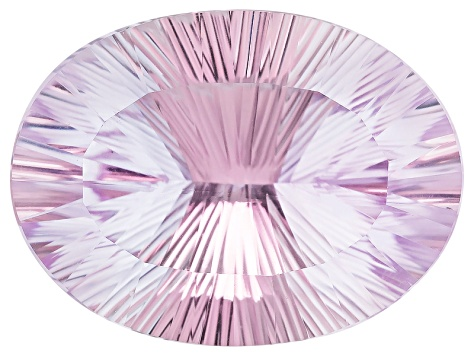 Kunzite 27.14x20.15mm Oval Quantum Cut 43.75ct