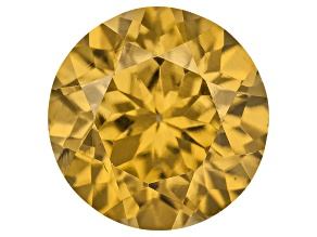 Yellow Zircon Thermochromic 6.5mm Round 1.25ct