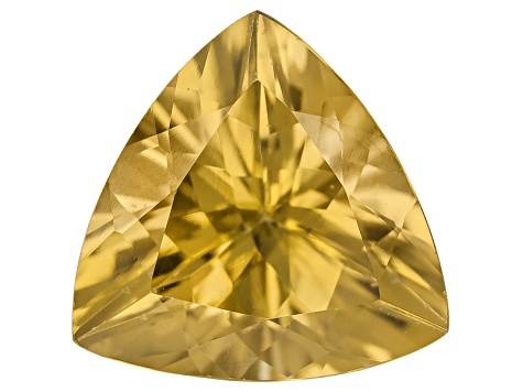 Yellow Zircon Thermochromic 9mm Trillion 3.00ct
