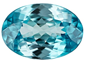 Blue Zircon Oval 4.50ct