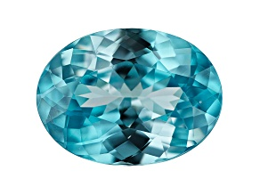 Blue Zircon Oval 3.45ct