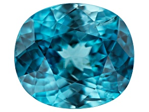 Blue Zircon 1.97ct 7.4x6.5mm Oval