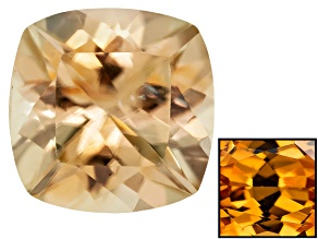Yellow Zircon Thermochromic 7mm Square Cushion 1.75ct