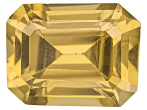 Yellow Zircon Thermochromic 9x7mm Emerald Cut 3.00ct