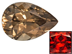 Zircon Thermochromic Pear Shape 1.00ct