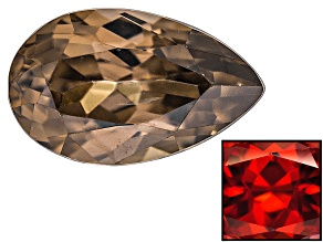 Zircon Thermochromic Pear Shape .50ct