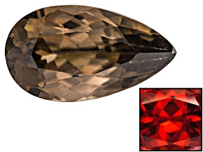 Zircon Thermochromic Pear Shape 2.00ct