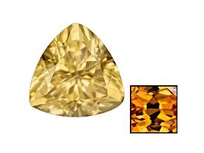 Yellow Zircon Thermochromic 7mm Trillion 1.75ct