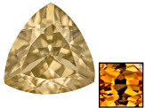 Yellow Zircon Thermochromic 6mm Trillion 1.00ct