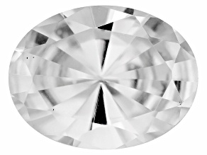 Tanzanian White Zircon Average 2.40ct 9x7mm Oval Mixed Cut