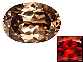 Zircon Thermochromic Oval 1.00ct