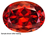 Zircon Thermochromic Oval .50ct