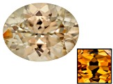 Yellow Zircon Thermochromic Oval 3.00ct