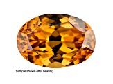 Yellow Zircon Thermochromic 14.99x11.22mm Oval 11.27ct