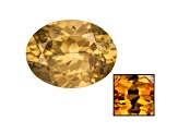 Yellow Zircon Thermochromic mm Varies Oval 4.75ct