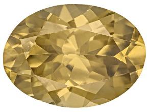Yellow Zircon Thermochromic 8x6mm Oval 1.50ct