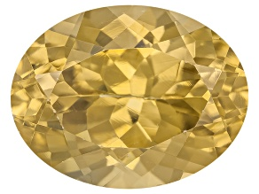 Yellow Zircon Thermochromic 9x7mm Oval 3.00ct
