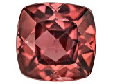 Red Zircon 8mm Square Cushion 3.25ct