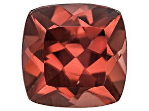 Red Zircon 8mm Square Cushion 3.75ct