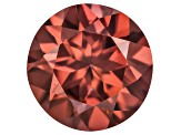 Red Zircon 9mm Round 4.00ct