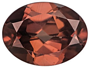 Red Zircon 8x6mm Oval 1.50ct