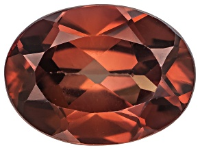 Red Zircon 8x6mm Oval 1.75ct