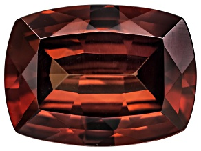 Red Zircon 8x6mm Rectangular Cushion Minimum 1.50ct