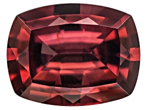 Red Zircon 9x7mm Rectangular Cushion Minimum 2.25ct