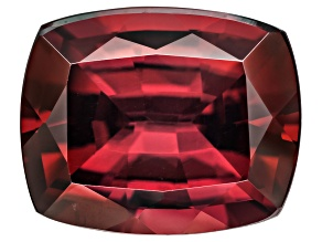 Red Zircon 10x8mm Rectangular Cushion Minimum 4.00ct