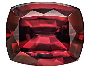 Red Zircon 10x8mm Rectangular Cushion Minimum 4.00ct
