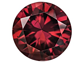 Red Zircon 9mm Round Minimum 3.50ct