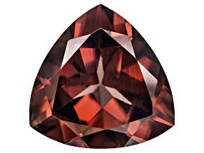 Red Zircon 11mm Trillion Minimum 5.00ct